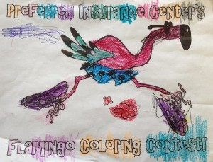 Flamingo Coloring Contest 3