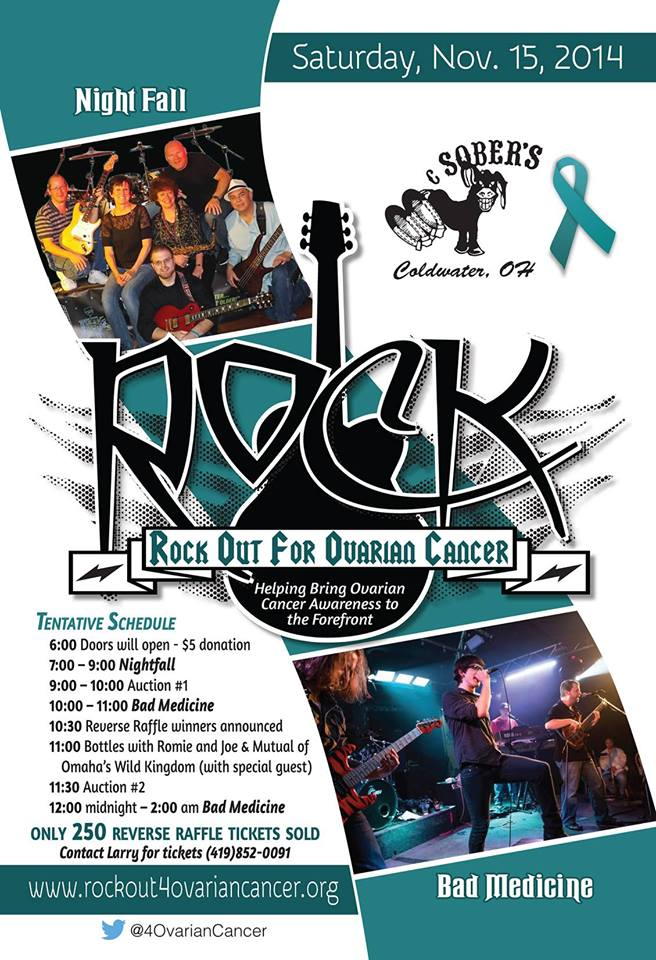 Rock Out For Ovarian Cancer