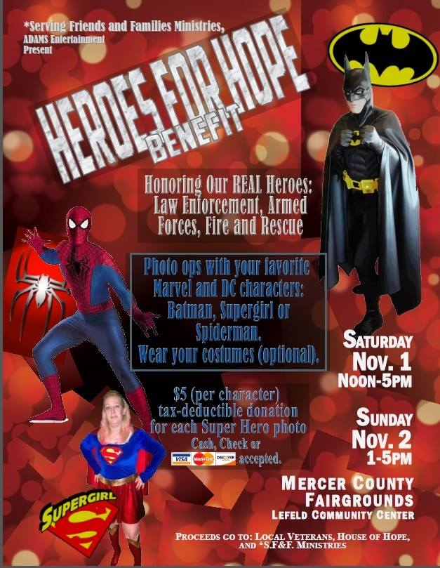 SFF Superhero Event